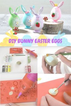 This DIY Bunny Easter Egg Craft is a perfect Spring craft for kids and adults alike. You can make each one unique by accessorizing with Mod Melts and Mod Molds and painting them different colors!