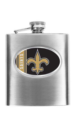 New Orleans Saints Flask