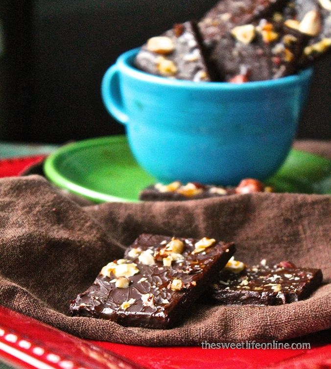 Chocolate Turtle Bark by The Sweet Life