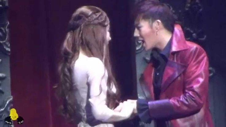 """SUNGKYU MUSICAL『VAMPIRE』-song""""REINCARNATION"""" kiss T-T"""