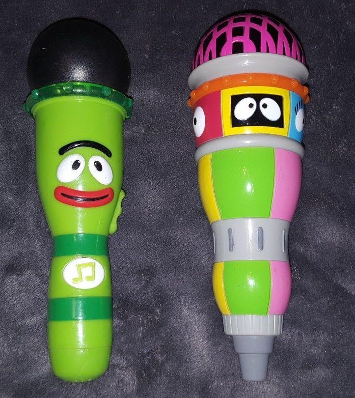 Yo Gabba Gabba musical microphones Brobee razzle dazzle Plex Muno Foofa Toodee  | Toys & Hobbies, TV, Movie & Character Toys, Yo Gabba Gabba | eBay!