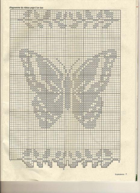 Gallery.ru / Фото #91 - Filet Crochet pour Point de Croix 2 - Mongia