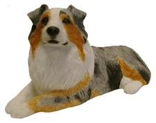 Australian Shepherd Length 11in x Width 5in x Height 5in