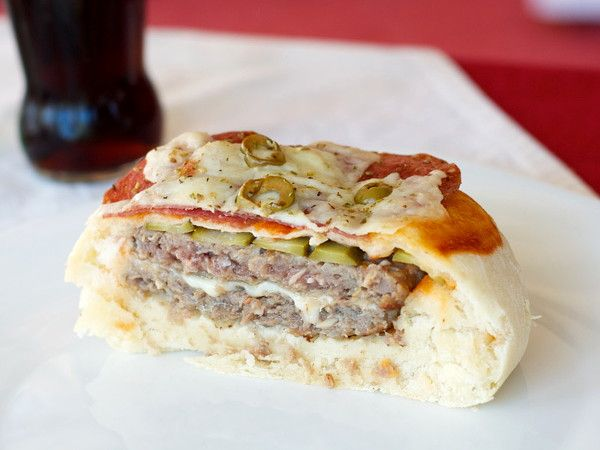 Пицца-гамбургер 9
