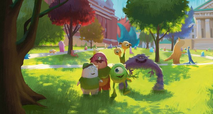 67 Pieces Of Stunning Pixar Concept Art                                                                                                                                                                                 Más