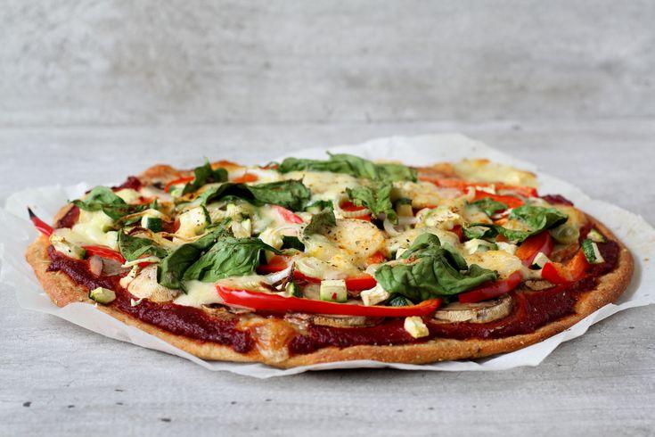 Pizza met Konzelmann Pizzadeeg