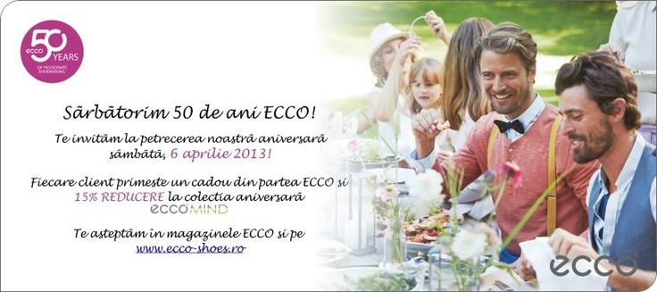 ECCO 50 de ani