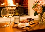 Roaring fire, cheese and wine in #YoungNSW Young NSW part of the Hilltops Food & Wine Region