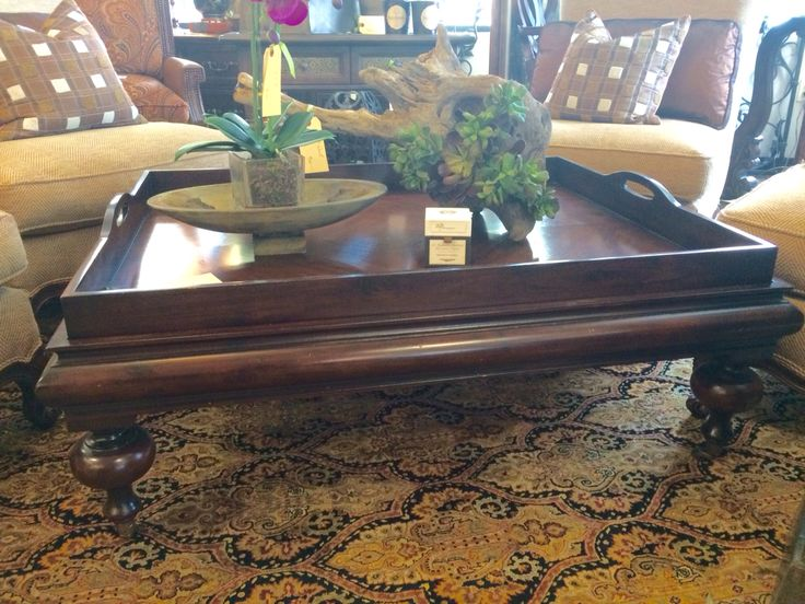 Estate Tray Coffee Table By Restoration Hardware $675.00 Call Le Villa For  Details 972 908
