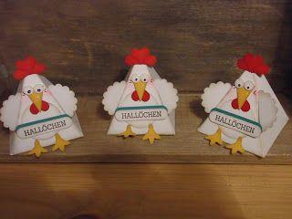 ...Hallöchen.....die Hühner sind wieder los....