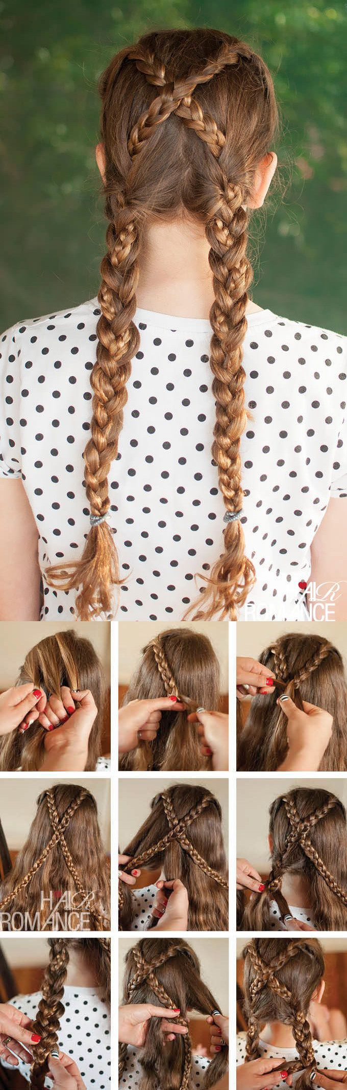 10 Beautiful Hair Tutorials To Unleash Your Inner Disney Princess ~  Anna from Frozen braid tutorial