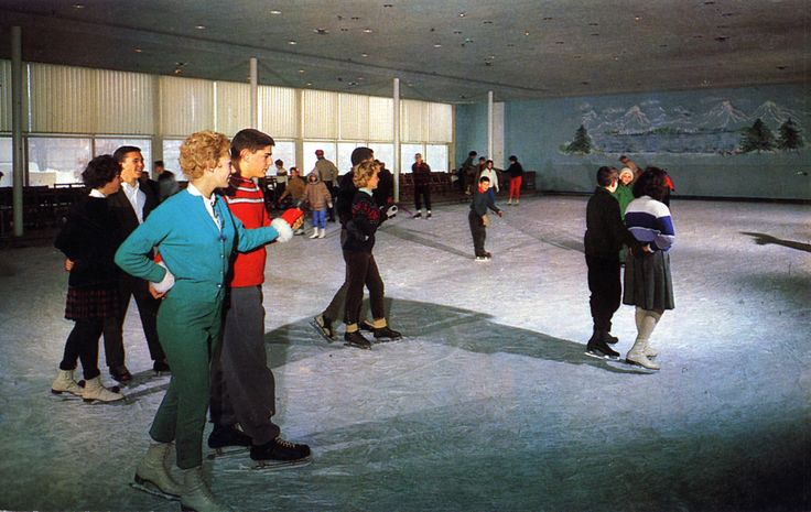 Fallsview Indoor Ice Skating Rink Ellenville NY | by Edge and corner wear