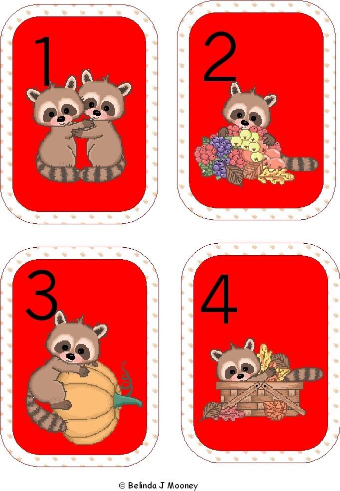 Printable raccoon UNO cards. Cute enough?