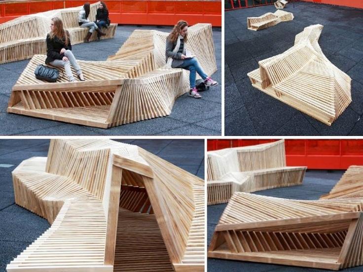 M s de 25 ideas incre bles sobre dise o urbano en pinterest for Mobiliario urbano contemporaneo