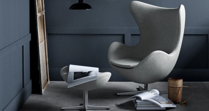 My most favourite furniture piece of all times   Egg Chair 3316,designed by Arne Jacobsen in 1958 and still going strong  By Fritz Hansen