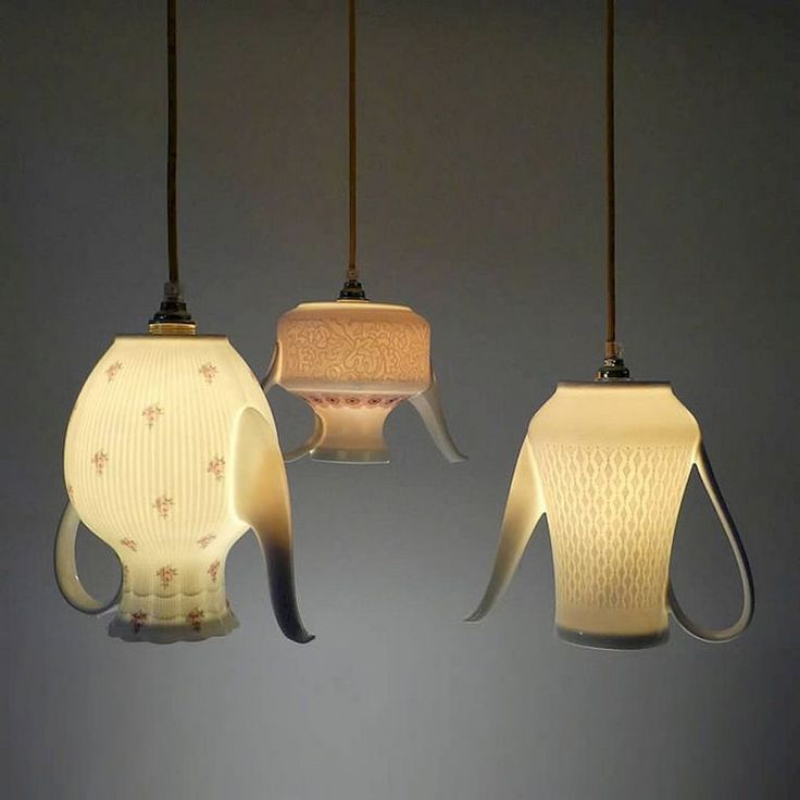 25  best ideas about recycled lamp on pinterest