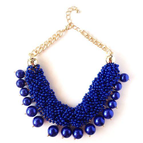 Colier/Necklace: Blue Bubbles www.monokini.ro
