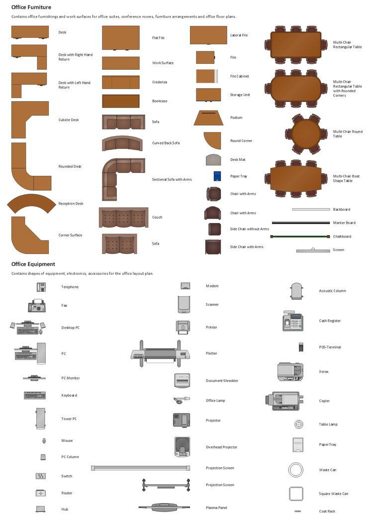 Room Floor Plan Designer Free: Sample Design Elements Office Layout Plan Macintosh