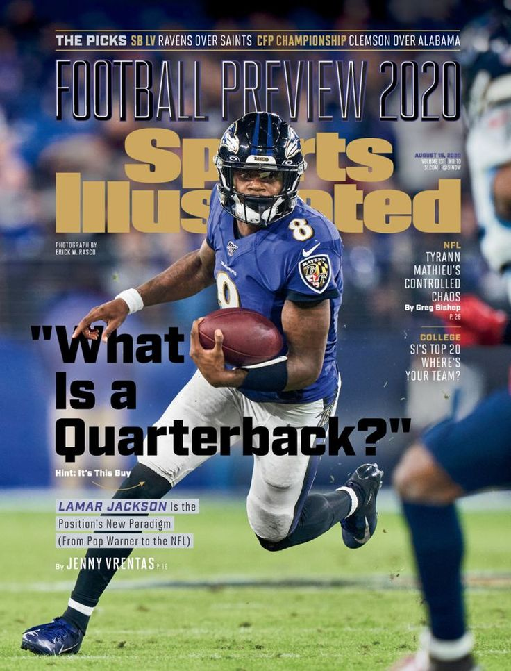 Sports Illustrated Back Issue Football Preview 2020