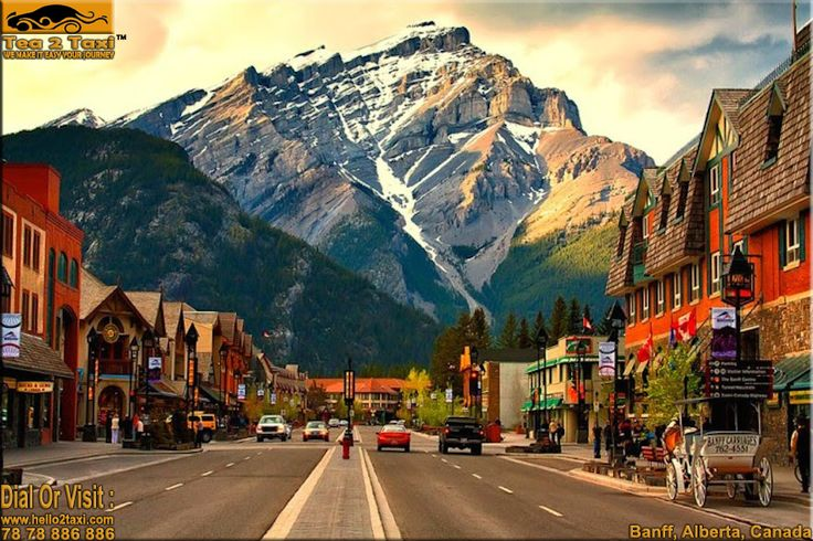 Banff, Alberta - Canada..!! Most Popular Tourist Destination In Canada...!! #Best #Taxi And #Driver #Service #Provider #Ahmedabad Call : 78-78-886-886/78-78-884-884, www.hello2taxi.com  For More Information #Click Here - http://tea2taxi.blogspot.in/…/banff-alberta-most-popular-to…