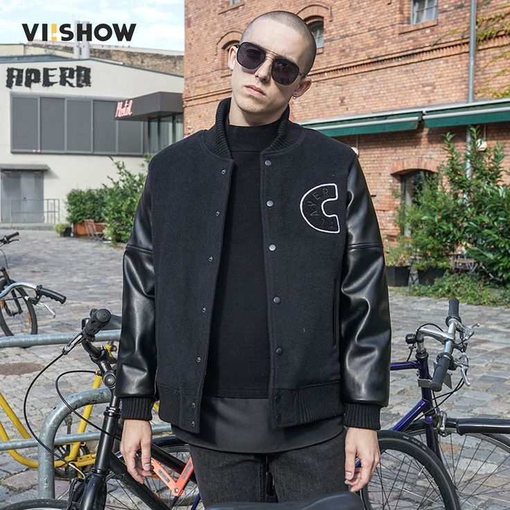 VIISHOW 2017 Men's New Casual Parka JacketS High Quality AUTUMN Men Regular Slim BLACK Jacket Coat For Male Outerwear MC36264 #Affiliate