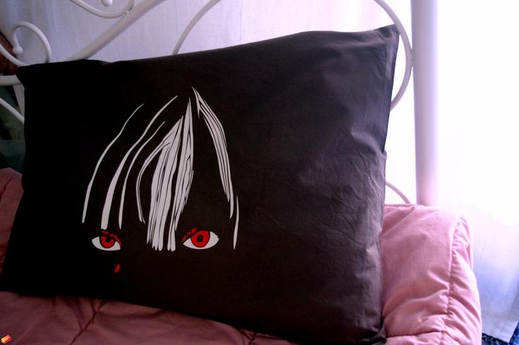 Cotton Brown Sleeping Pillow Design : Chromatics