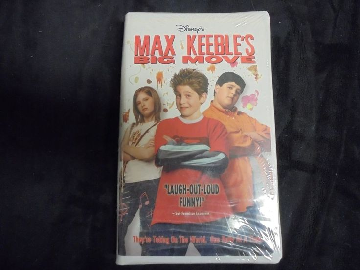 "USED VHS Movie ""Disney's MAX KEEBLE'S"" Big Movie""  (G)"