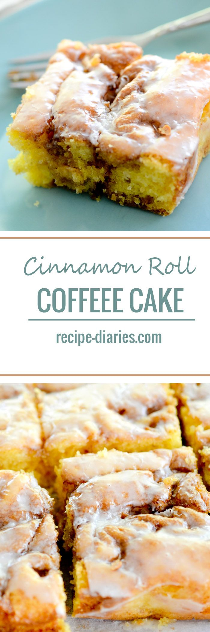 Cinnamon Roll Coffee Cake - Recipe Dairies