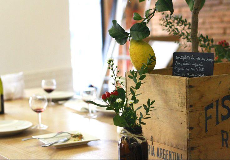 Découvrez la carte Des Complices, restaurant situé prêt de la Rue de Metz au centre ville de Toulouse, 31 000.