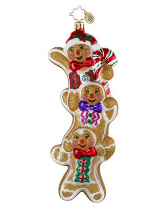Image detail for -Christopher Radko Christopher Radko Three Times As Sweet Ornament