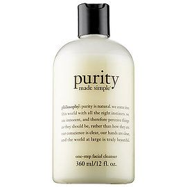 Purity Made Simple Cleanser - philosophy | Sephora    This this is the cleanser I used for years. It's gentle and mild
