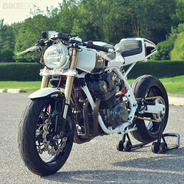 1982 Honda CB900F Cafe Racer by Chappell Customs | Gear X Head