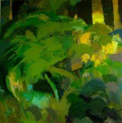 Abstract Greens, Christa Vayanos