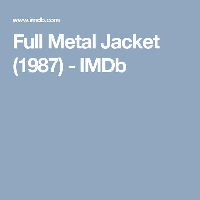 Full Metal Jacket (1987) - IMDb