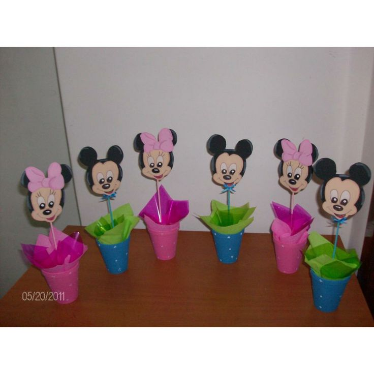 13 best manualidades minnie images on pinterest minnie - Manualidades para cumpleanos infantiles ...