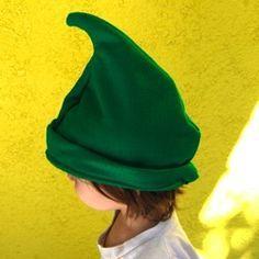 Free Elf hat pattern. Costume. http://www.make-baby-stuff.com/elf-hat-pattern.html