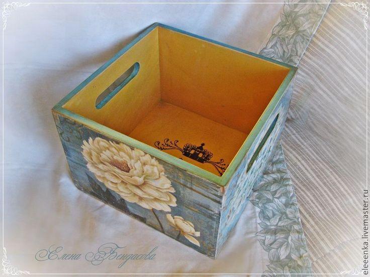 """Купить Короб """"Любимые цветы"""" - короб для хранения, короб, коробка, для ванной комнаты, для дома и интерьера"""