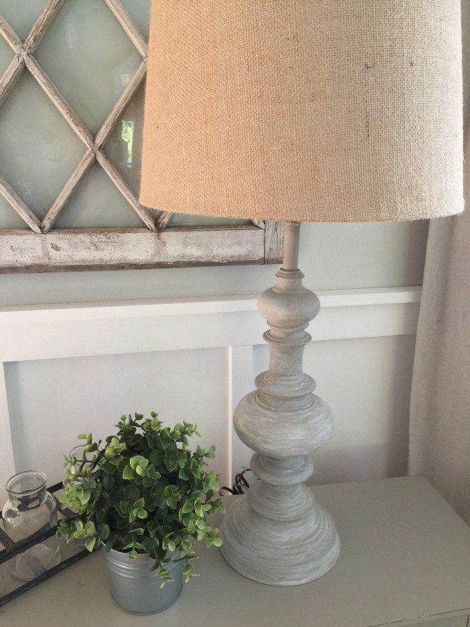 Diy Restoration Hardware Inspired Lamp Makeover In 2019