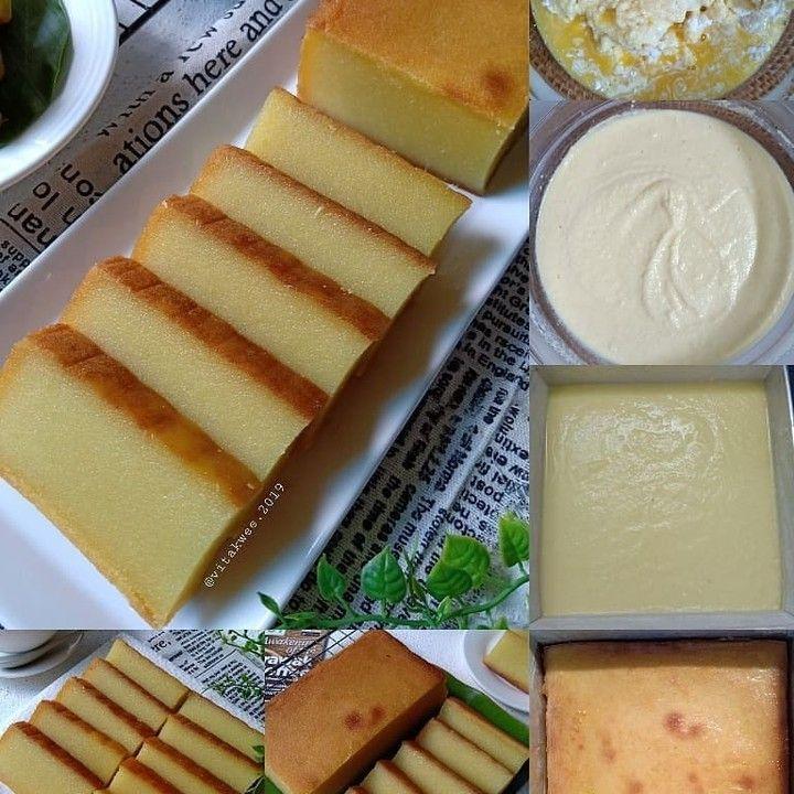 Resep Aneka Jajanan Di Instagram Sentuh Lovenya Dulu Dong Kak Bingka Ubi Kayu Cassava Cake Source Mykitchen101en Rebake Resep Makanan Resep Kue Resep