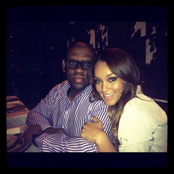 That be her boo,husband,manager & executive producer Sipho Dlamini#An admirable couple & powerful force <3