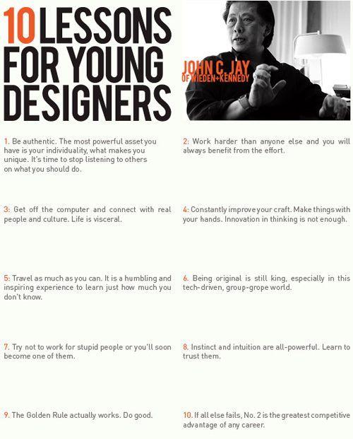 Voor vormgevers en ontwerpers.