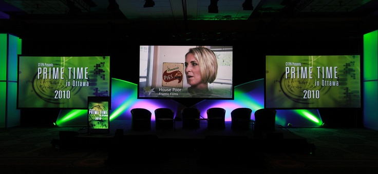 2010: Technical Orchestr, Technology Service, Events Technology, Westin Ottawa, Conference Sets, Sets Design