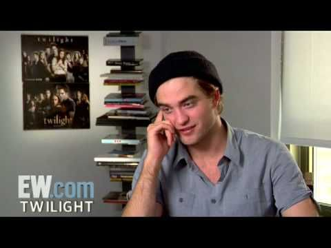 EW 2008 Twilight': Robert Pattinson Interview (Part 2 of 5) | Entertainment Weekly