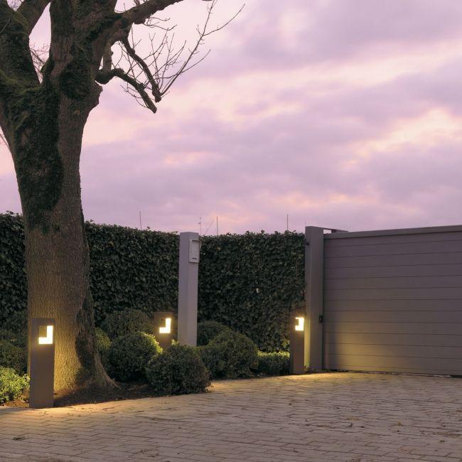 Modern outdoor lighting by delta light photo 3