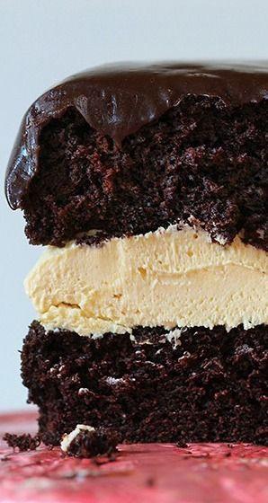 Biscoff Buckeye Cake Recipe
