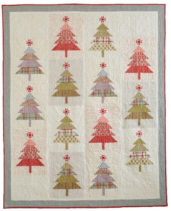 Santa S Tree Farm Pattern Download Farm Quilt Patterns Farm Quilt Christmas Tree Quilt