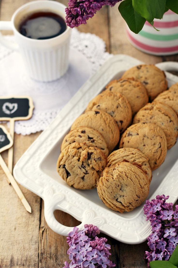 Rich, buttery cookies loaded with chocolate