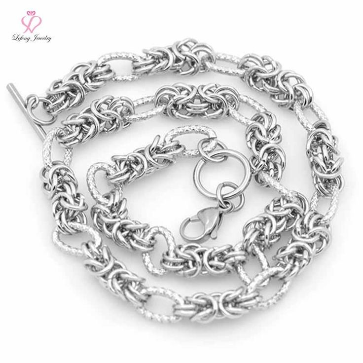 8mm 18-24 Inch Silver Toggle chunky chain necklace,Stainless steel floating locket chains necklace rolo link chain C216