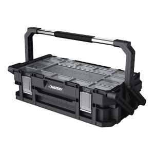 Husky 22-Compartment 22 in. Connect Cantilever Organizer for Small Parts Organizer-230379 - The Home Depot
