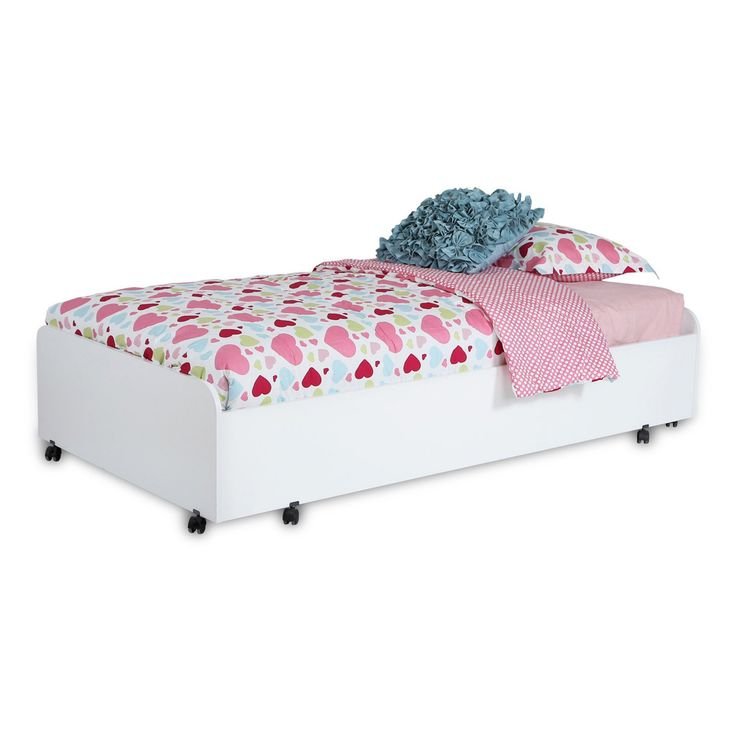 South Shore Twin Trundle Bed on Casters - 3880082